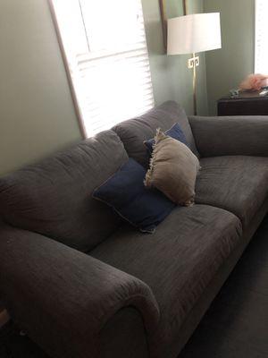 Dark Grey/blue-ish couch for Sale in Nashville, TN