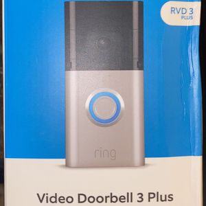 Brand New In Box Ring Video Doorbell 3 Plus for Sale in Dallas, TX