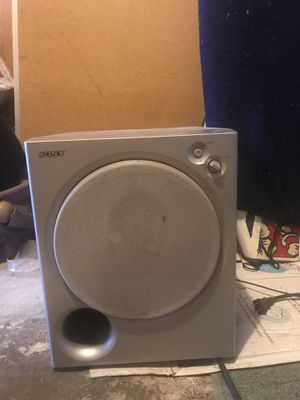 Sony Subwoofer SA-WMSP85 100 watt for Sale in Santa Monica, CA