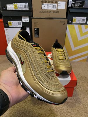 "Nike Air Max 97 ""Metallic Gold"" sz. 10 for Sale in Modesto, CA"