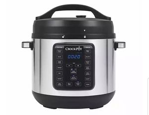 New Crock-Pot XL 8 quart Express Crock XL Programmable Multi- Slow Cooker + Pressure Cooker (Stainless Steel) for Sale in Vista, CA