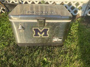 Michigan Igloo Cooler for Sale in Ann Arbor, MI