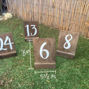 Table Numbers (#1-24) for Sale in San Diego, CA