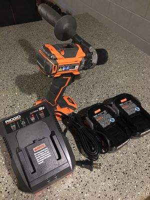 Rigid Brushless Hammering Drill. Model #R861162SB for Sale in Phoenix, AZ