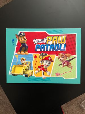 Paw patrol canvas for Sale in Aurora, CO