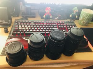 Canon lenses for Sale in Fremont, CA
