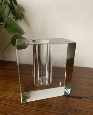 • vintage lucite bud vase mid century • for Sale in Issaquah, WA