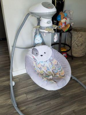 Baby swing will taken care of for Sale in South Salt Lake, UT