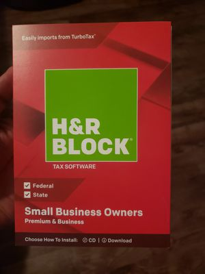 Tax Software H&R Block for Sale in Jacksonville, FL