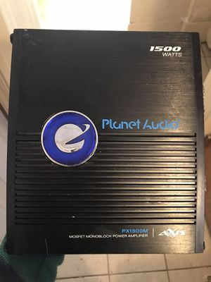 1500 watt sub amp for Sale in Detroit, MI