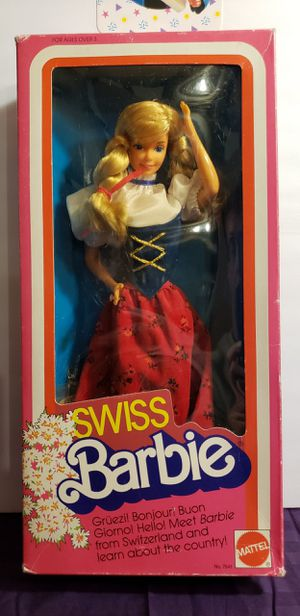 Collectible Swiss Barbie for Sale in North East, MD