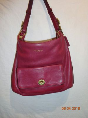 Coach legacy hobo shoulder bag in deep port for Sale in Wickenburg, AZ