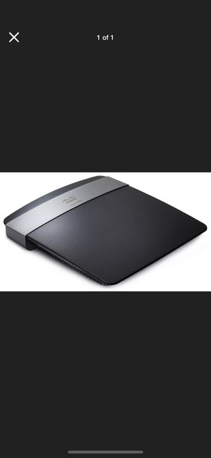 Linksys wi-if router N600 for Sale in Alhambra, CA