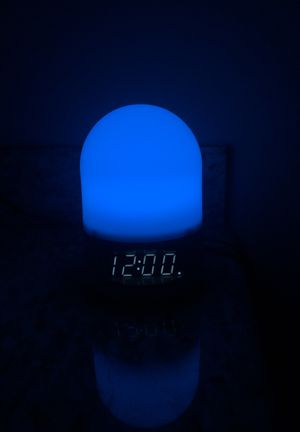Sharp alarm clock, changes colors for Sale in Olympia, WA