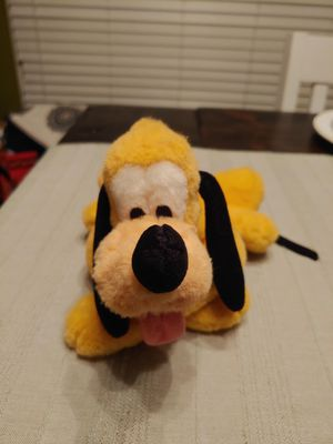 Disney Parks Plush Pluto Dog Green Collar for Sale in Raleigh, NC
