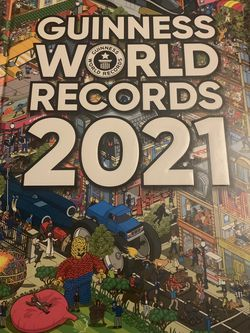 Guinness Book of Records 2021 - brand new for Sale in West Chicago,  IL