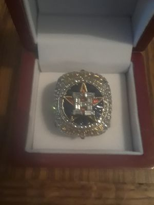 Astros Championship Ring for Sale in Olivette, MO