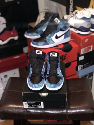 Jordan 1 Tie Dye (PS) size 1Y for Sale in Rockwall, TX