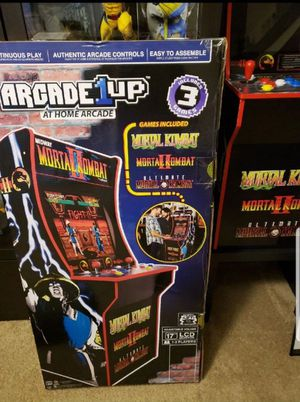 Mortal Kombat Arcade 1UP At Home Arcade ! East Coast for Sale in Silver Spring, MD