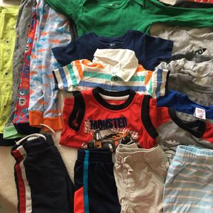 Boys Clothing Size 18, 24 Months And 2T for Sale in Fort Lauderdale, FL
