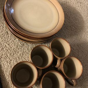 Dishes And Caps (12) Pcs for Sale in Buffalo, NY