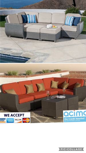 Patio furniture set sunbrella for Sale in Norco, CA