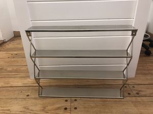 4 CB2 stainless steel shelves for Sale in Miami Beach, FL