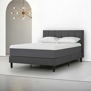 Brand New Queen Size Bed! Platform frame with headboard and footboard! Mattress! Can deliver for Sale in Sacramento, CA