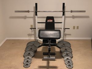 Weights and Bench for Sale in Seattle, WA