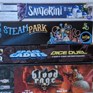 Board Games (Blood Rage, Sherlock Holmes, Santorini, Kokoro, And More!) for Sale in Catonsville, MD