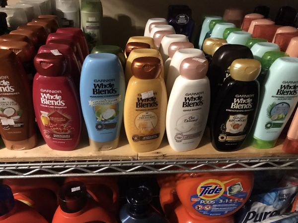 Gariner whole blends shampoo and conditioner SET