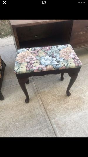Antique Solid Wood Foot Rest for Sale in Los Angeles, CA