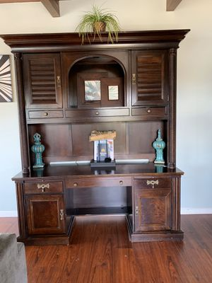 2 pieces very large hutch/desk. Free if you come and get it for Sale in Carlsbad, CA