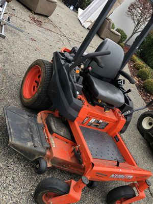 2017 Kubota Z121SKH-48 Zero Turn Lawn Mower for Sale in Federal Way, WA