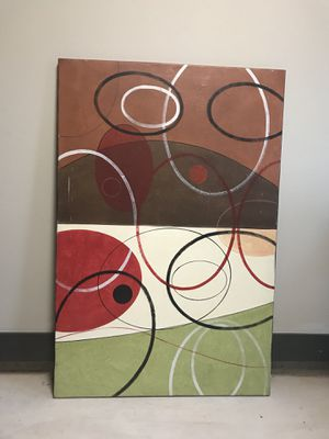 Large abstract canvas for Sale in Cedar Park, TX