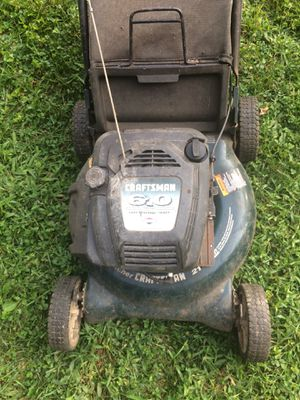Push Craftman 6.0 horsepower lawnmower for Sale in Silver Spring, MD