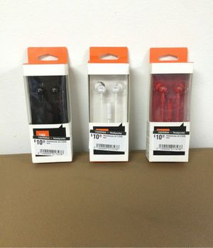JBL 3.5 wired stereo earphones Deep Bass Music Bass Earbuds Sport Audífonos con cable Deportes C100SI for Sale in Medley, FL