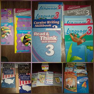 Abeka 3rd Grade Complete curriculum Parent & Student books for Sale in Temple, GA