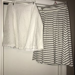 Pretty Elle & Reed white skirts bundle size med for Sale in Henderson, NV