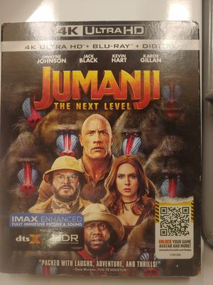 Jumanji - the next level 4k for Sale in Ontarioville, IL