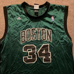 Black and green Adidas Paul Pierce jersey for Sale in Shrewsbury, MA