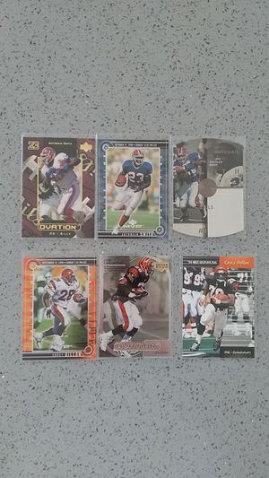 Antowain Smith/Cory Dillon football cards for Sale in South San Francisco, CA