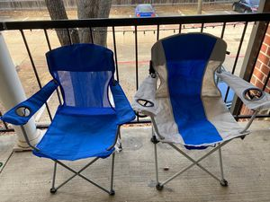 Ozark Trail Foldable Picnic / Camping Chairs (2) for Sale in Irving, TX
