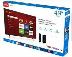 """49S423 49"""" TCL UHD 4K SMART ROKU TV for Sale in Pomona, CA"""