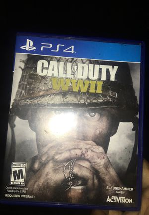 Call of duty ww2 for ps4 for Sale in Bell, CA