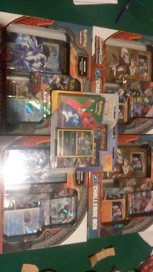 Pokemon challange boxes for Sale in Foster, RI