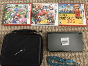 New Nintendo 3DS XL with accessories & games for Sale in Utica, MI