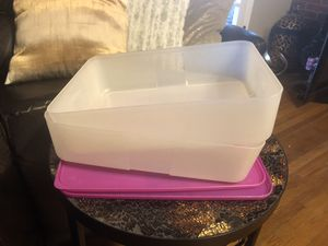 2 Tupperware containers for Sale in La Mesa, CA