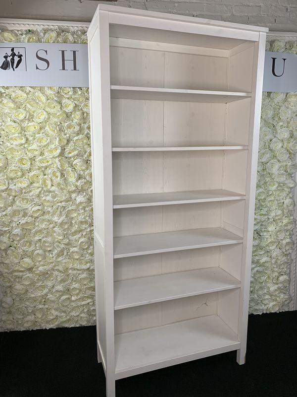 FLASH SALE: 6.5ft Cream/Off-White 6 Level Shelf