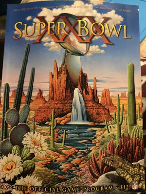 Unsigned Super Bowl XXX (30) Program - 1995 for Sale in Victoria, TX